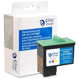 Elite Image Remanufactured Ink Cartridge - Alternative for Lexmark (10N0026)