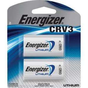 Energizer CRV3 Batteries, 2 Pack