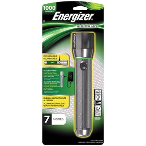 Energizer Vision HD Rechargeable Flashlight
