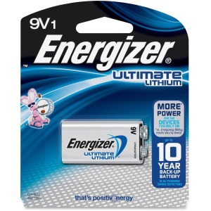 Energizer Ultimate Lithium 9V Batteries, 1 Pack