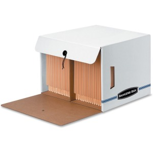 Bankers Box Side-Tab™ Drop-Front - Letter