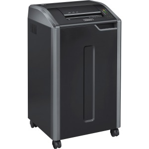 Fellowes Powershred® 425i 100% Jam Proof BAA Compliant Strip-Cut Shredder