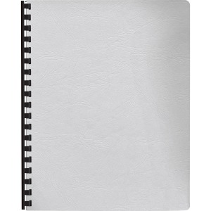 Fellowes Expressions™ Grain Presentation Covers - Oversize, White, 200 pack
