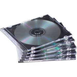 Fellowes Slim Jewel Cases - 25 pack