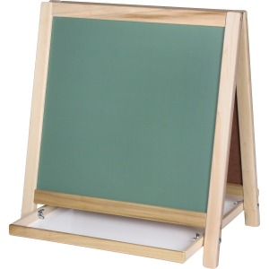 Flipside Chalkboard/Magnetic Board Table Easel