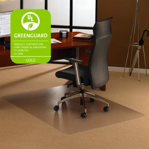 Cleartex Plush Pile Rectangular Chairmat