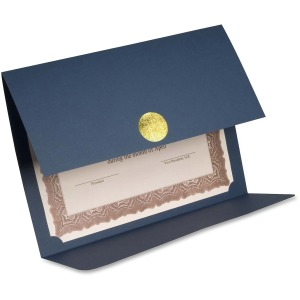 St. James® Elite Medallion Fold Certificate Holder