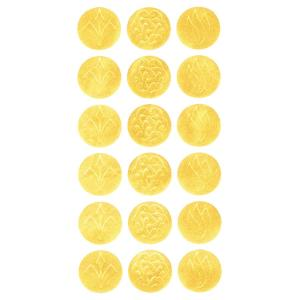 Geographics Gold Embossed Seals