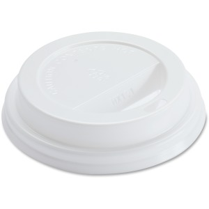 Genuine Joe Raised Siphole Hot Cup Lids