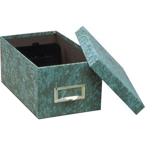 Globe-Weis Agate Heavy-duty Card File Lid Box