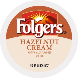 Folgers Gourmet Selections Hazelnut Cream Flavored Packs K-Cup