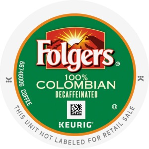 Folgers Gourmet Selections Lively Colombian Decaf Packs K-Cup
