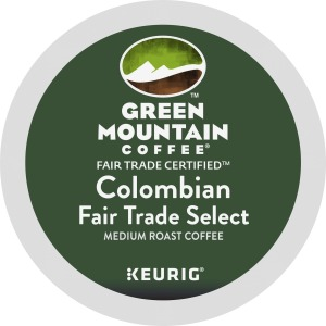 Green Mountain Coffee Roasters Colombian Fair Trade Select