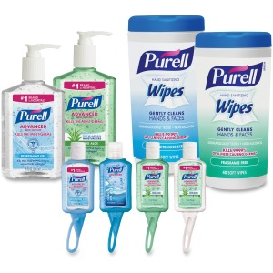 PURELL® On-the-go Sanitizer Kit