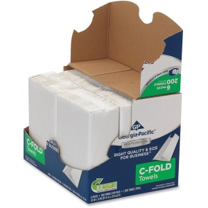 Georgia-Pacific Professional Series Pro C-Fold Paper Towels - Convenience Pack