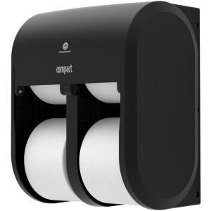 Compact 4-Roll Quad Coreless High-Capacity Toilet Paper Dispenser