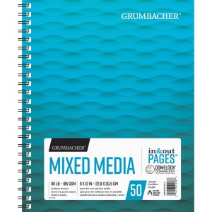 Grumbacher Mixed Media Wire-bound Notebook