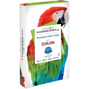 Hammermill Paper for Color Laser, Inkjet Laser Paper - 30% Recycled