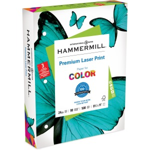 Hammermill Paper for Color 3-Hole Punched Laser Print Laser Paper