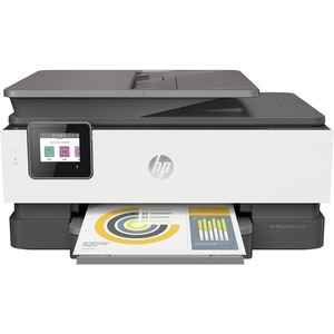 HP Officejet 8020 Inkjet Multifunction Printer - Color