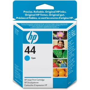 HP 44 Cyan Ink Cartridge