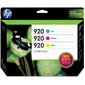HP 920 Combo Creative Pack-10 sht/4 x 6 in and 10 sht/5 x 7 in