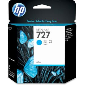 HP 727 Original Ink Cartridge - Cyan