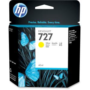 HP 727 Original Ink Cartridge - Yellow