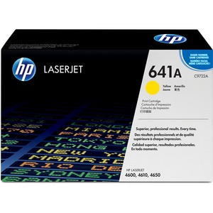 HP 641A (C9722A) Original Toner Cartridge - Single Pack