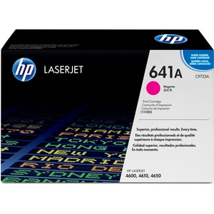 HP 641A (C9723A) Original Toner Cartridge - Single Pack