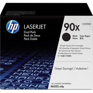 HP 90X (CE390XD) Original Toner Cartridge - Dual Pack