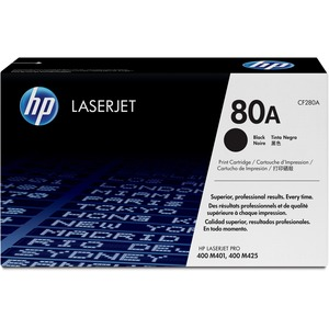 HP 80A (CF280A) Original Toner Cartridge - Single Pack