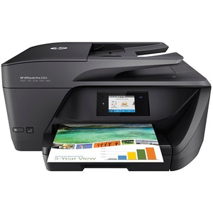 HP Officejet Pro 6968 Inkjet Multifunction Printer - Color - Plain Paper Print - Desktop