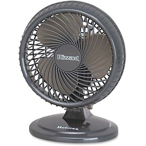 Holmes HAOF87 Lil Blizzard Oscillating Table Fan