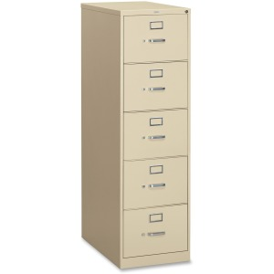 HON 310 Series 5-Drawer Vertical File