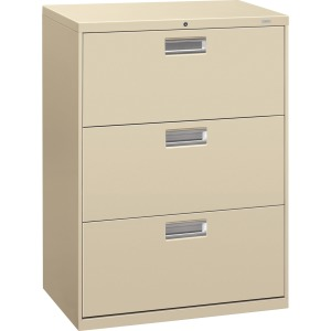 HON Brigade 600 Series 3-Drawer Lateral