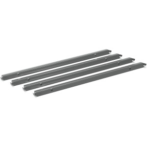 HON Single Rail Hanging Racks, 4-Pack