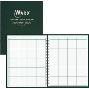 Ward Teacher's 8-period Lesson Plan Book