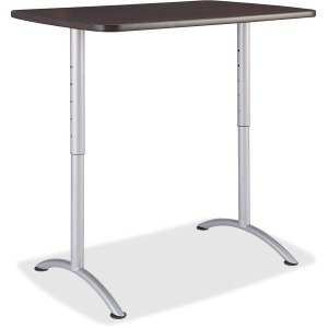 Iceberg Walnut Top Sit-to-Stand Table