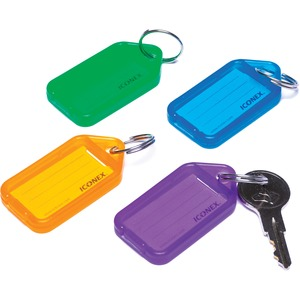 ICONEX Bright Color Key Tags