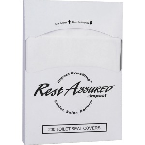 Impact Products 1/4-fold Toilet Seat Covers