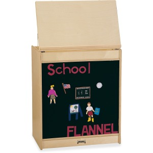 Jonti-Craft Big Book Easel Flannel Board
