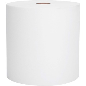 KCC 1005 8 X 1000 WHITE ROLL TOWEL 6/CS
