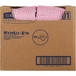 Wypall X70 Red Foodservice Wipers
