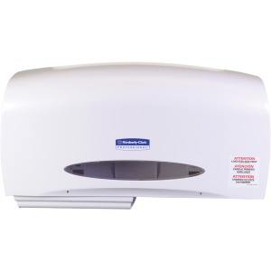 Kimberly-Clark Professional Coreless JRT Twin Tissue Dispenser