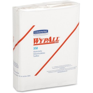 Wypall Kimberly-Clark WypAll X50 Folded Wipers
