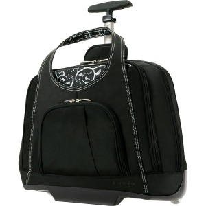 "Kensington Contour Carrying Case (Roller) for 15.4"" Notebook - Onyx"
