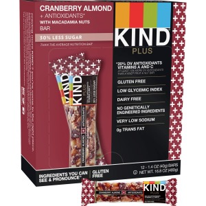 KIND Cranberry Almond Plus Antioxidants Snack Bars