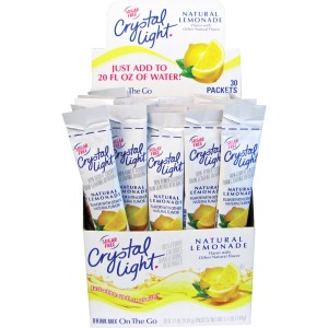 Crystal Light Kraft On-The-Go Mix Lmnade Sticks