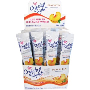 Crystal Light On-The-Go Mix Peach Sticks